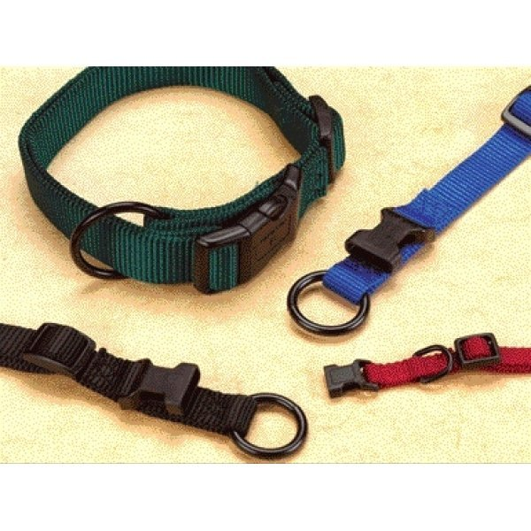 Hamilton 3/8 In Adj. Dog Collar / 7 12 In. Neck / Color Red