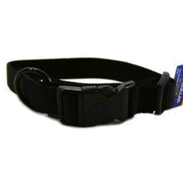 Adjustable 1 In. Dog Collar 18 26 In / Color Black