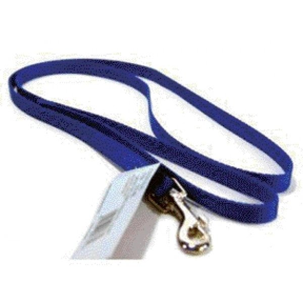 Small Dog Nylon 38 In Leash Size Blue 4 Ft image