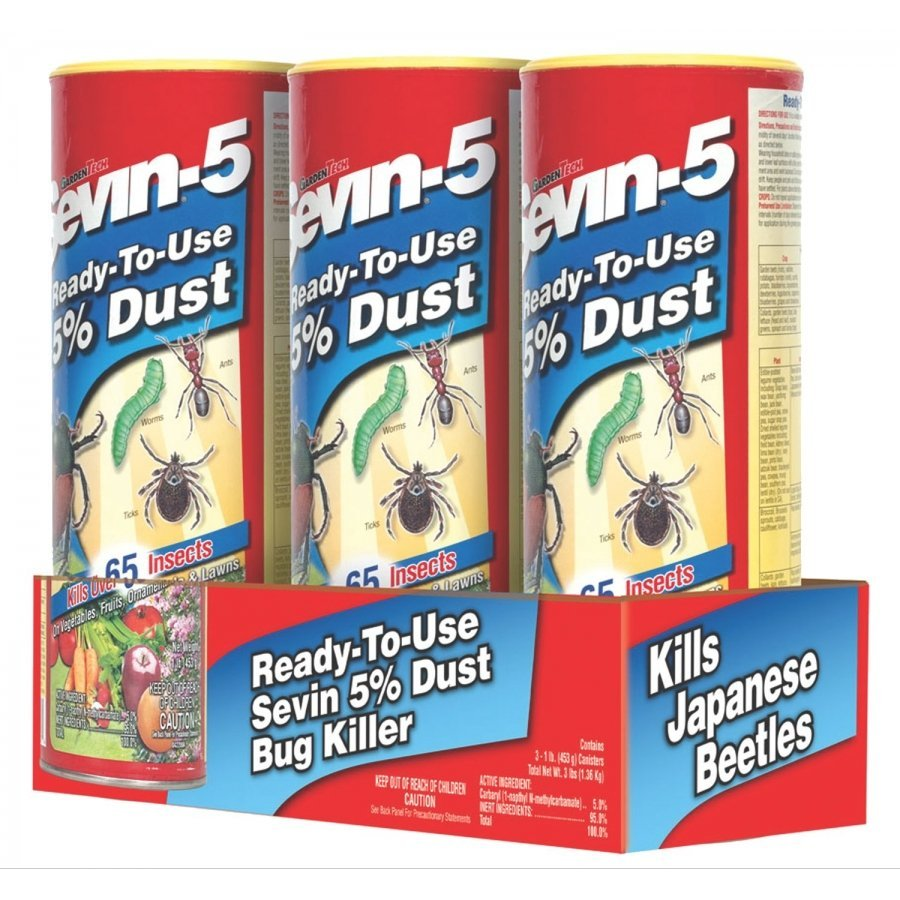 Sevin Dust 5% - 3 pack / 1 lb each Best Price