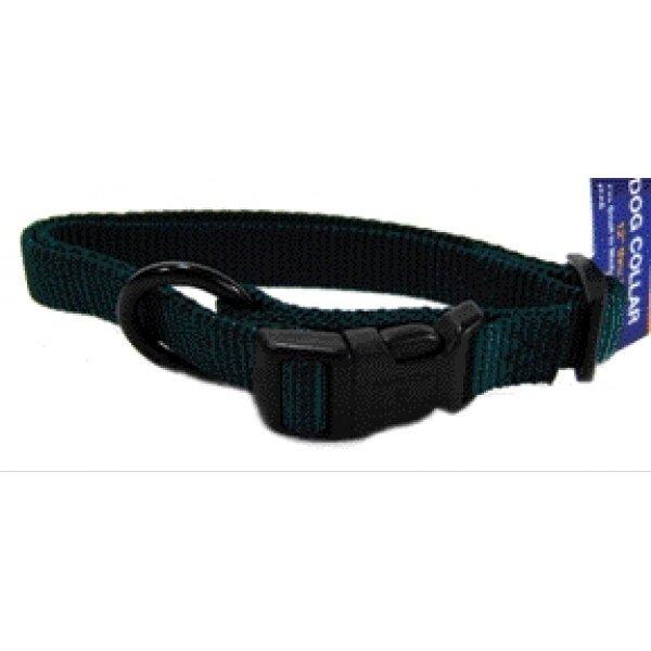 Hamilton 5/8 In. Adj. Dog Collar 12 18 In. / Color Hunter