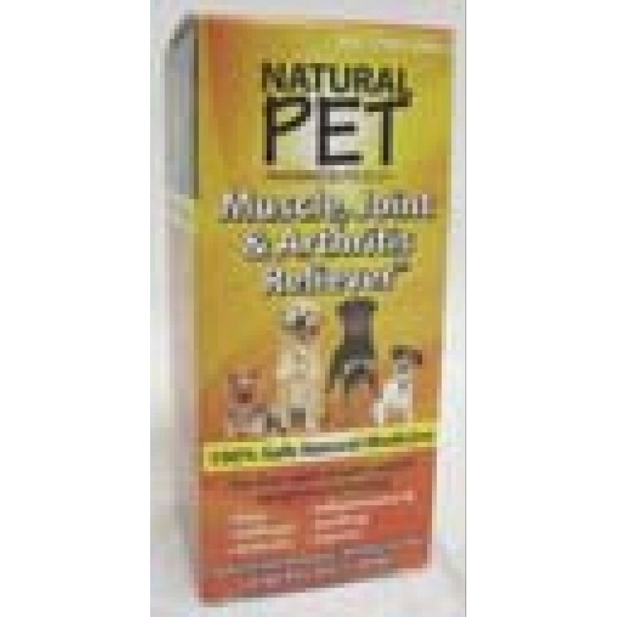 Natural Pet Muscle Joint And Arthritis Relief Dog Supplement 4 Oz.