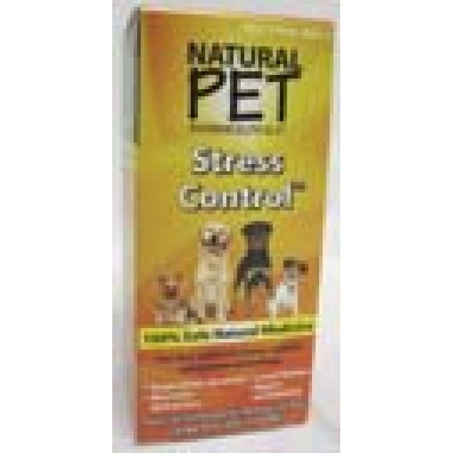 Natural Pet Stress Control Calming Supplement 4 Oz.