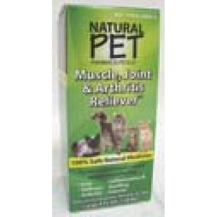 Natural Pet Muscle Joint And Arthritis Relief Cat Supplement 4 Oz.