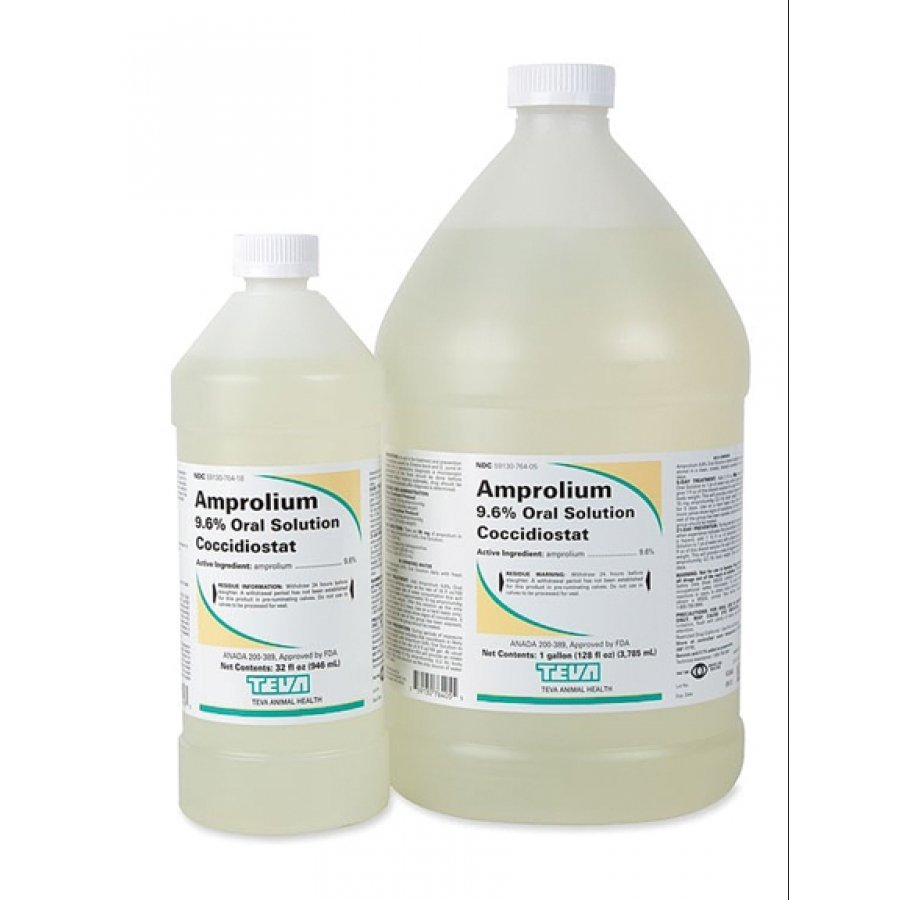 Amprolium 9.6% Oral Solution - 32 oz. Best Price