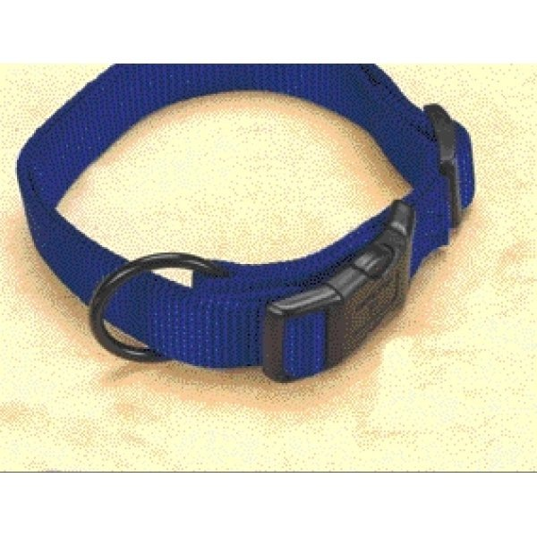 Hamilton 3/4 In Adj. Dog Collar 16 22 In. Neck / Color Blue