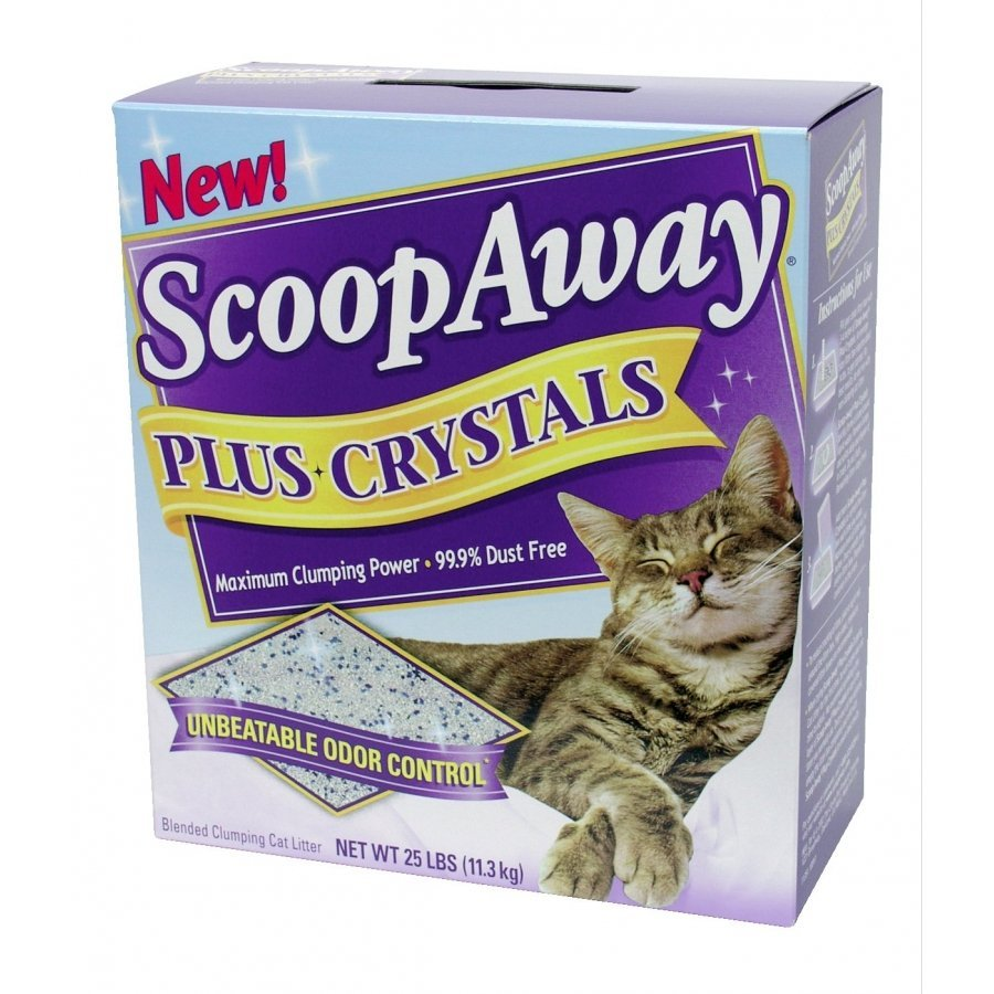 Scoop Away Plus Crystals Cat Litter 25 Lbs.