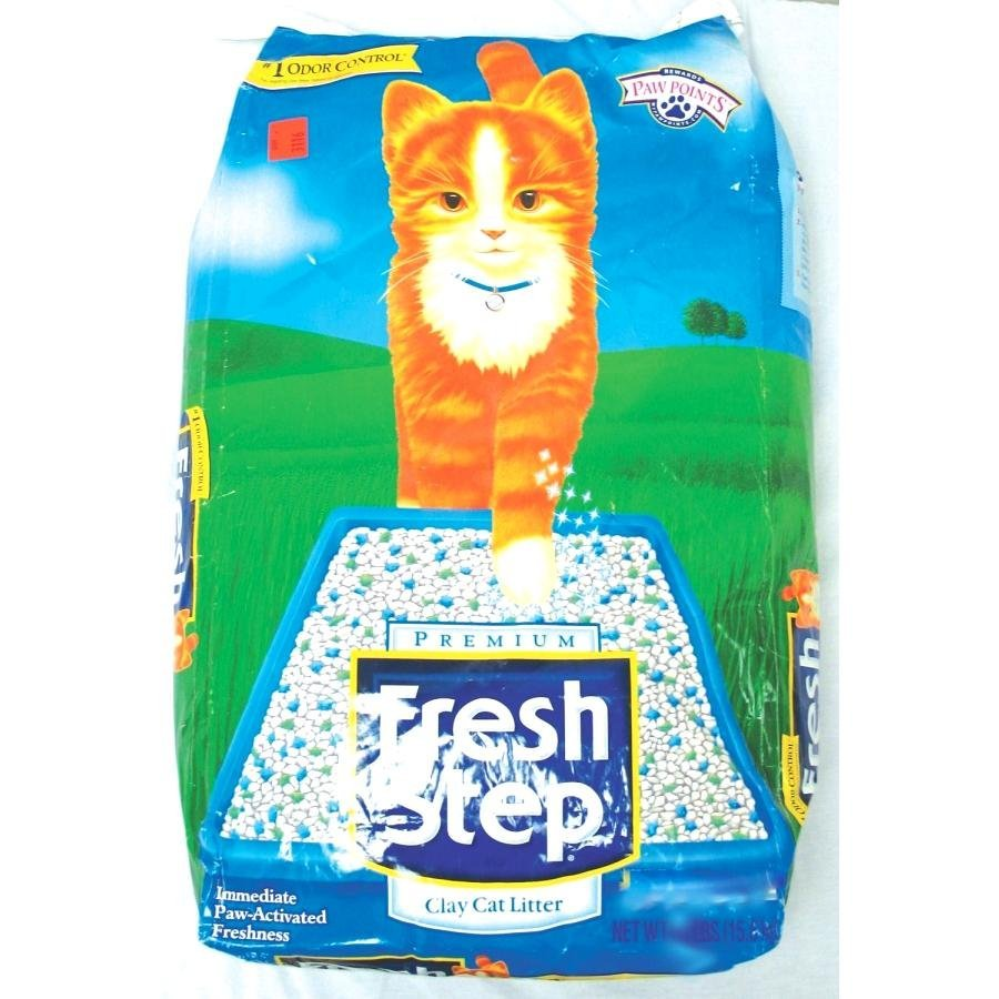 Fresh Step Premium Clay Cat Litter 21 Lbs