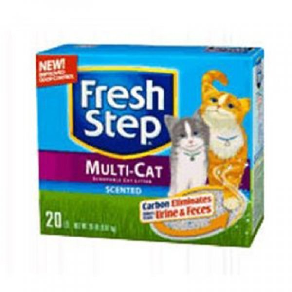 Fresh Step Multiple Cat Litter 20 lbs Best Price