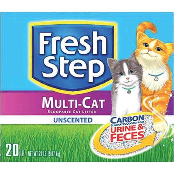 Fresh Step Multi-cat Unscented - 20 lbs Best Price