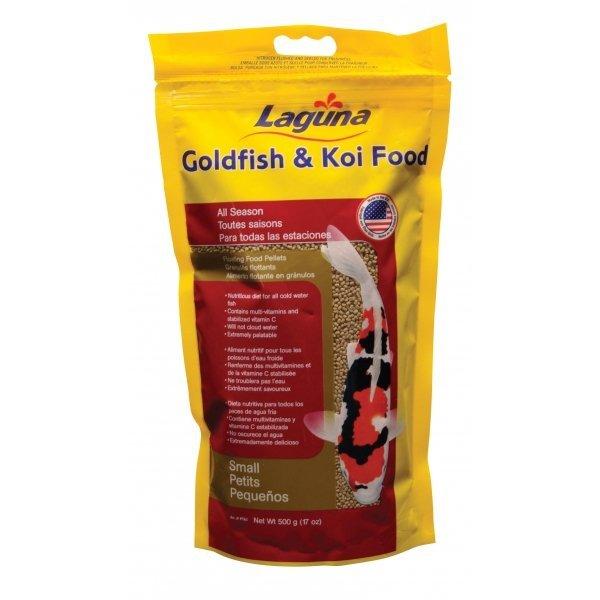 Gold/koi Floating Food Pellets / Pellets Small / 17 Oz.