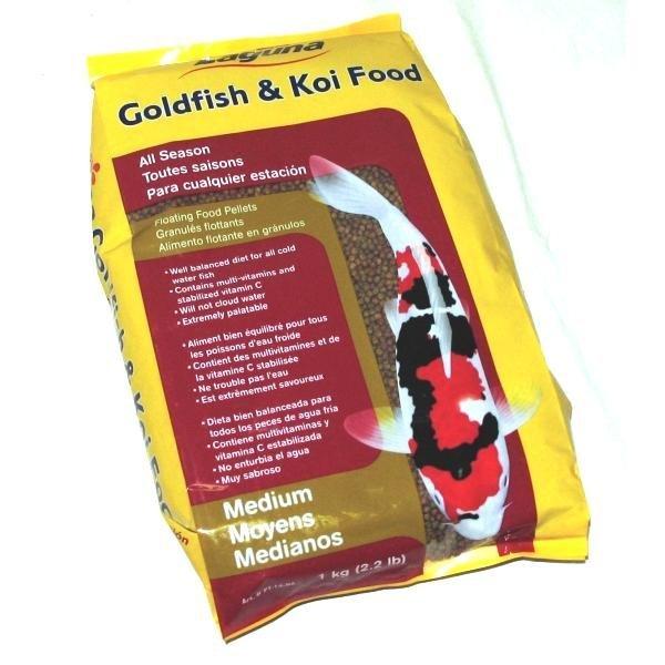 Gold/koi Floating Food Pellets / Pellets Medium / 2.2 Lbs.