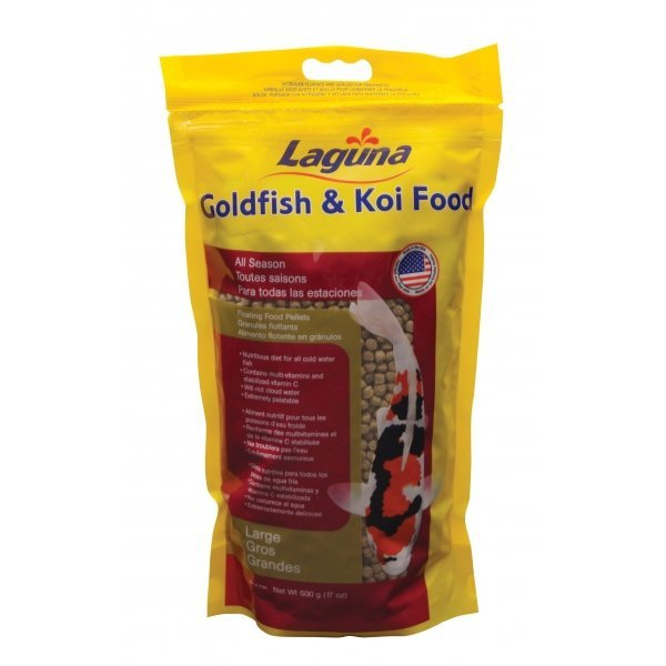 Gold/koi Floating Food Pellets / Pellets Large / 17 Oz.