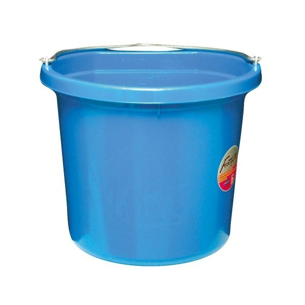 Flat Back Bucket 24 qt. / Color (Blue) Best Price