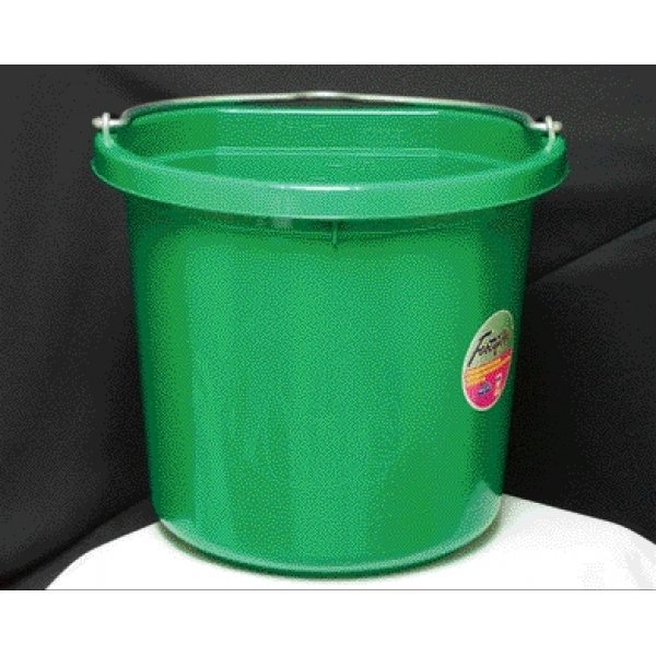Flat Back Bucket 24 qt. / Color (Green) Best Price