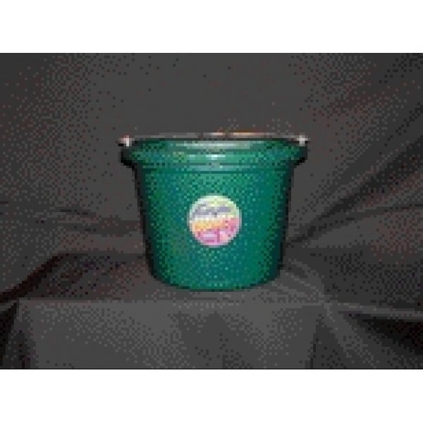 8 Qt. Flatback Household Bucket / Color (Hunter Green) Best Price