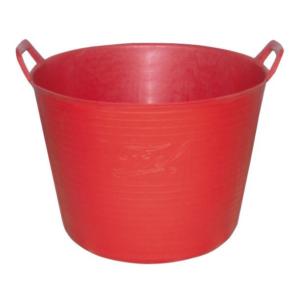 Flexible Chore Basket / Color (Red / 42 Qt.) Best Price