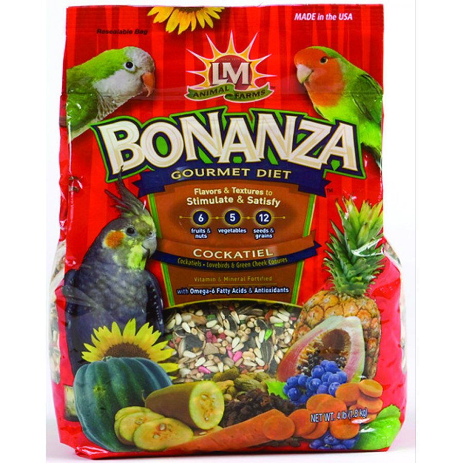 Bonanza for Cockatiels / Size (4 lbs.) Best Price
