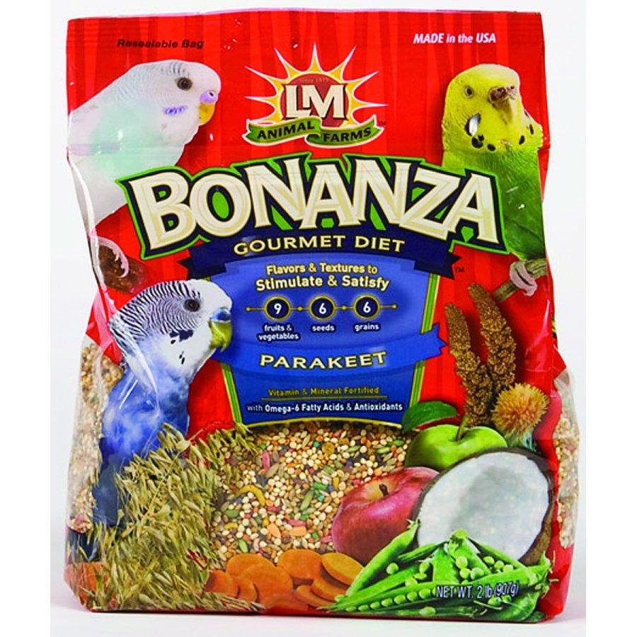 Bonanza For Parakeets / Size 2 Lbs.