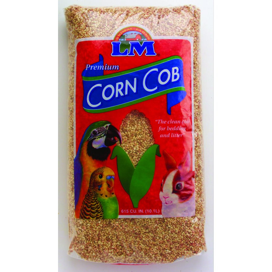 Corn Cob Small Pet Bedding / Size 8 Lb