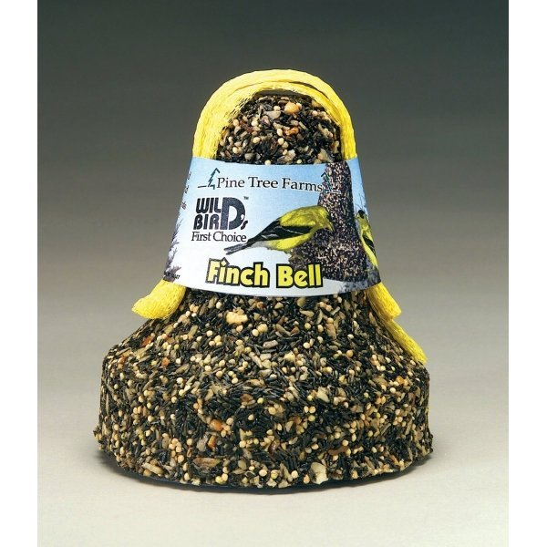 Pine Tree Farms Finch Seed Bell w/Net -18 oz. Best Price
