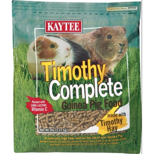 Timothy Complete Diet For Small Animals / Type Guinea Pig/5 Lbs.