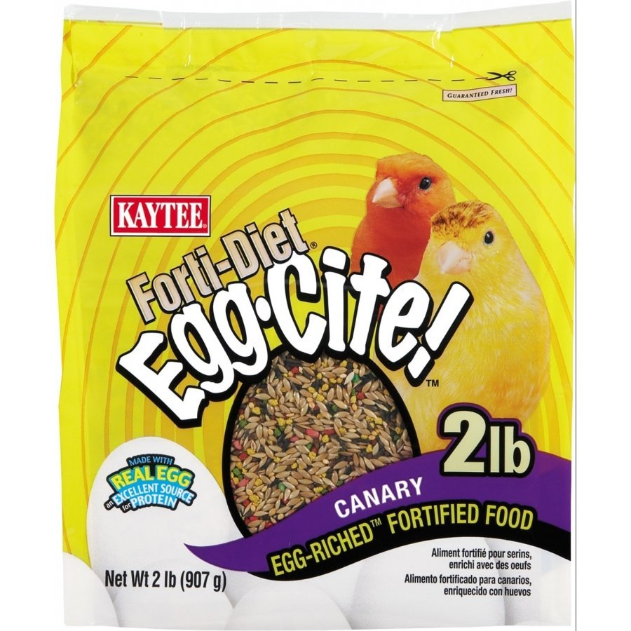 Forti Diet Egg Cite Canary Bird Food 2 Lb.