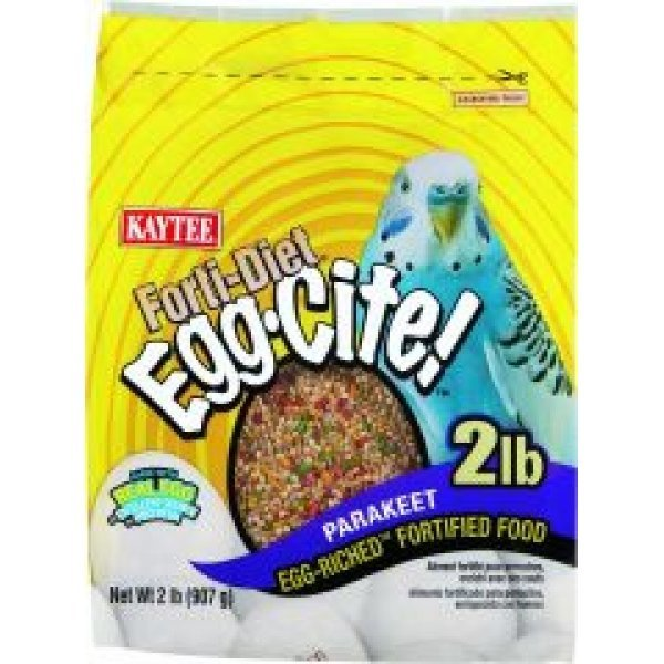 Forti Diet Egg Cite Parakeet Bird Food 3 Lb.