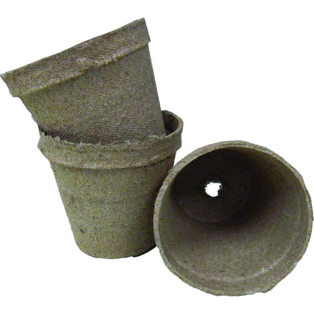 Round Jiffy Pots 3 inch (Case of 1404) Best Price