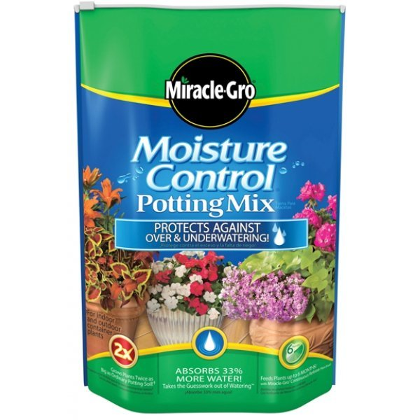 Miracle Gro Moisture Control Potting Mix / Size (8 qt) Best Price