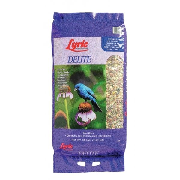 Lyric Delite High Protein Bird Food 20 Lbs.