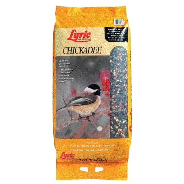 Lyric Chickadee Bird Food 20 Lbs.