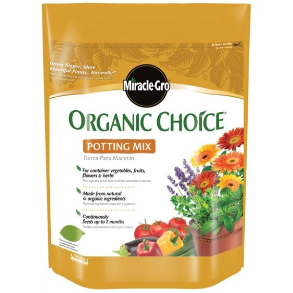 Miracle Gro Organic Choice Potting Mix / Size (8 qt) Best Price