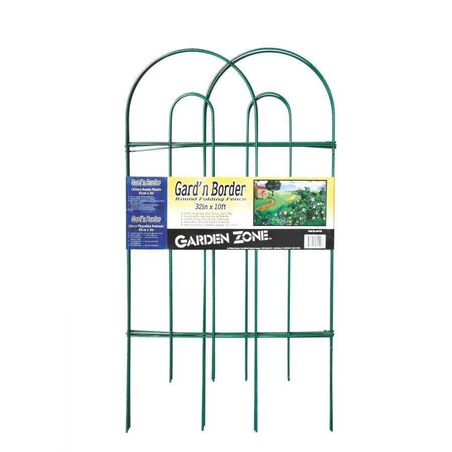 Garden Zone Round Folding Fence Border Best Price
