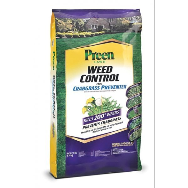 Preen Lawn Weed Control Plus Crabgrass Preventer - 18 lb Best Price