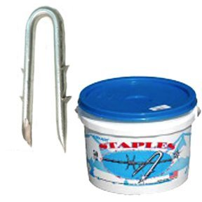 Barbed Staples for Fencing 8 lbs / Size (1.5 in.) Best Price