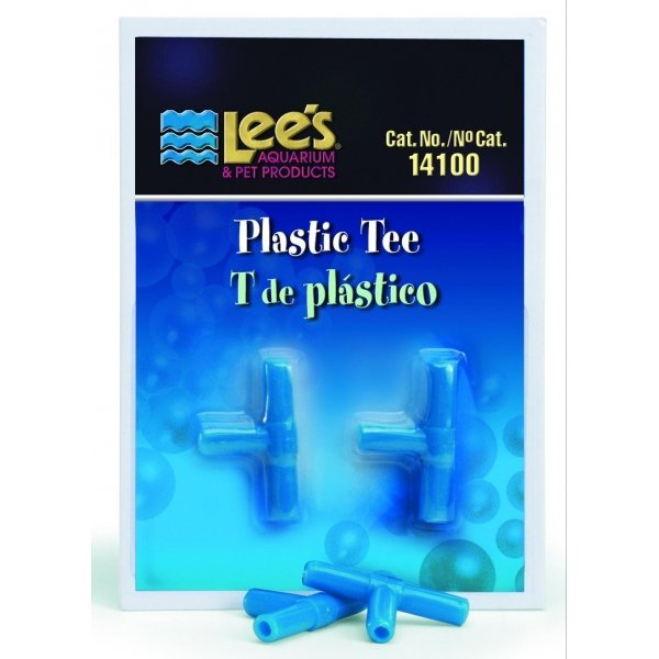 Plastic Tees For Air Pumps 2 Pack