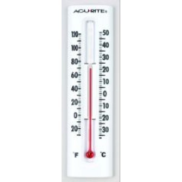 AcuRite Indoor and Outdoor Wall Thermometer 7.5 in. Best Price
