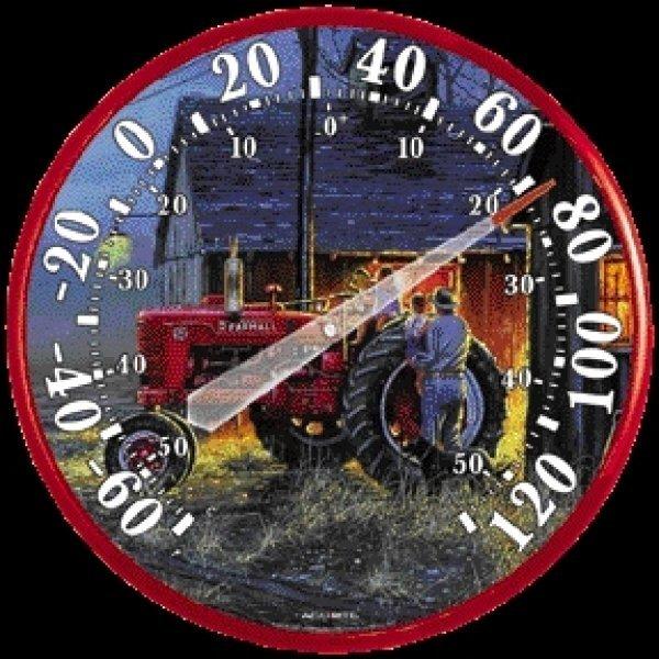 Tractor Indoor Outdoor Thermometer - 12.5 in. Best Price