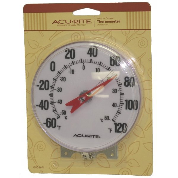 Indoor / Outdoor Wall Thermometer - 5 in. Best Price