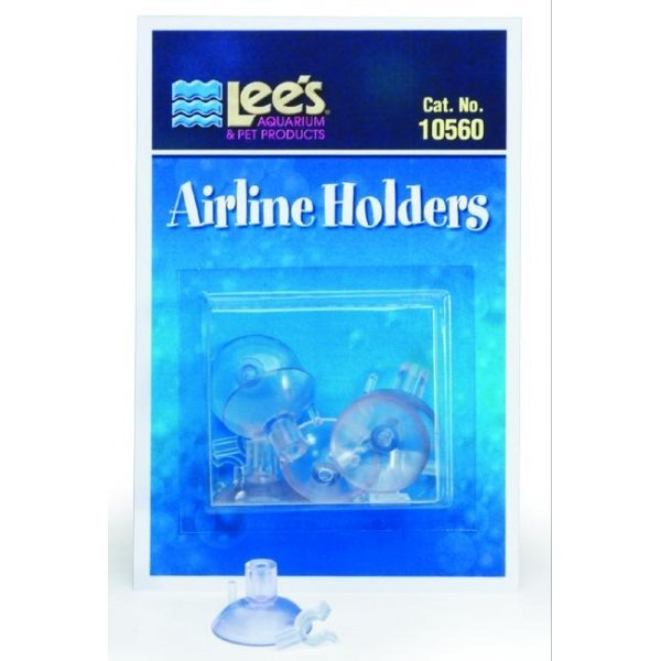 Lees Airline Holders For Aquariums 6 Pk.