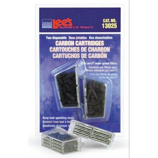 Lees Disposable Carbon Cartridge 2 Pk.