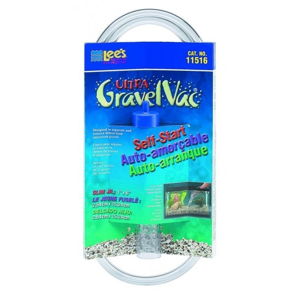 Slim Self Start Gravel Vacuum Cleaners 6 In.