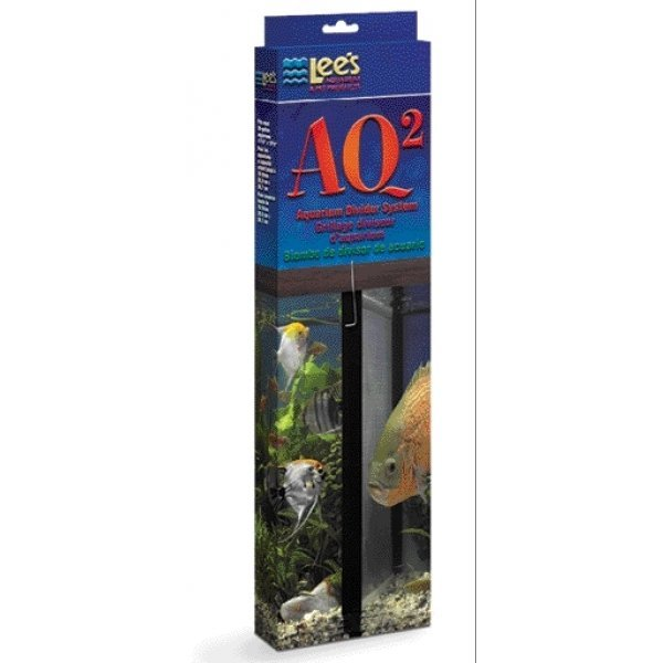 Aq2 Aquarium Divider System For Fish / Size 12 X 18
