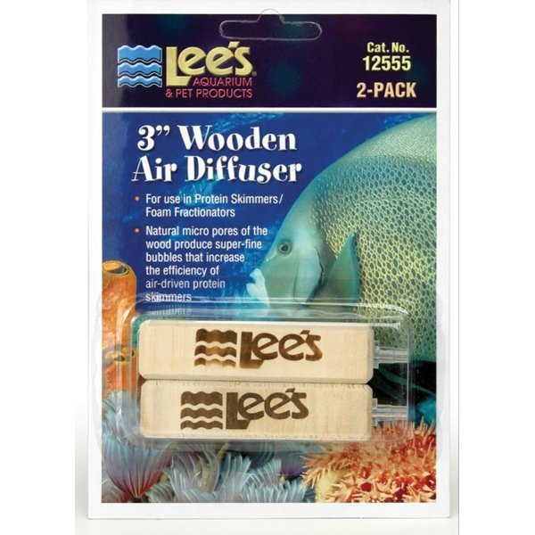 Lees Wooden Air Diffusers 3 Inch 2 Pack