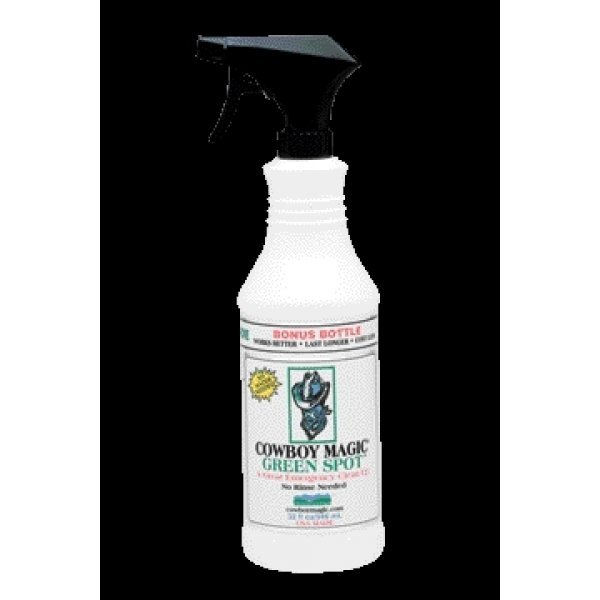 Cowboy Magic Equine Green Spot Remover / Size (24 oz.) Best Price