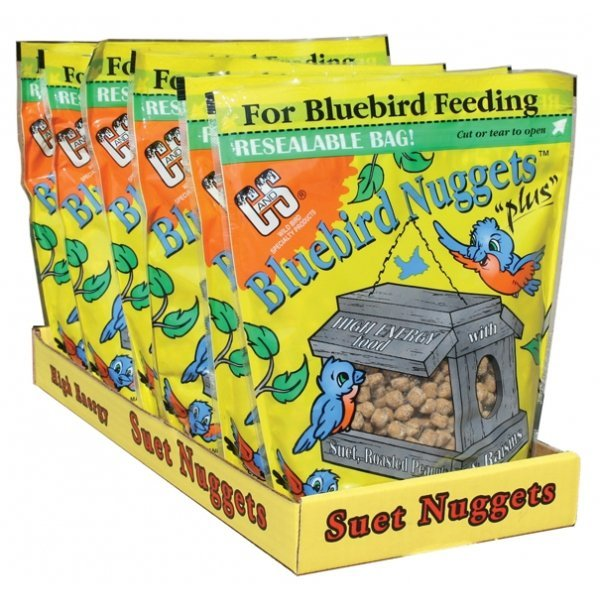 Wild Bird Nuggets Plus Nuts / Type Bluebird