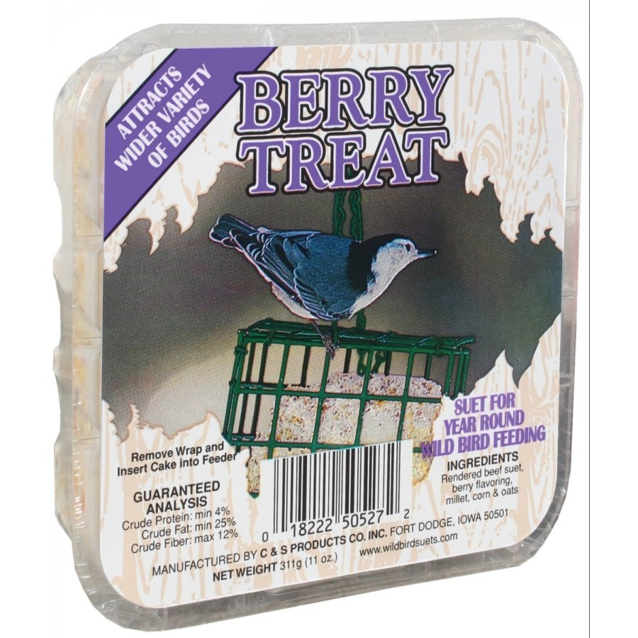 Berry Suet Treat Case Of 24