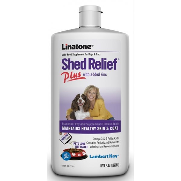 Linatone Shed Relief Plus / Size 8 Oz.