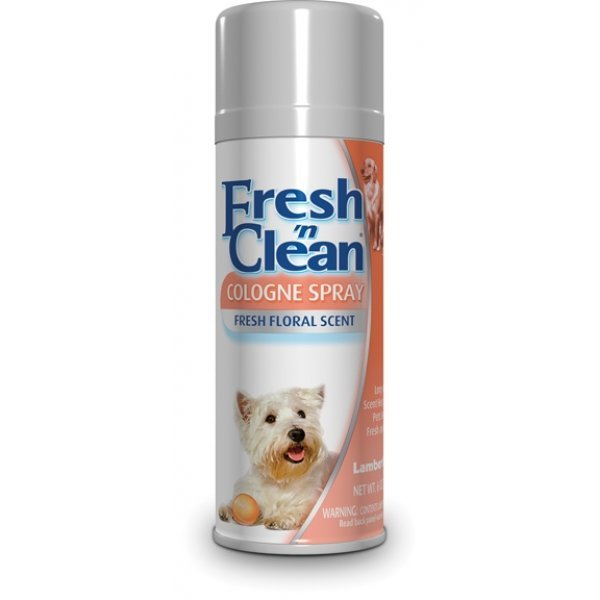 Fresh N Clean Dog Cologne / Size 6 Oz. Original Floral